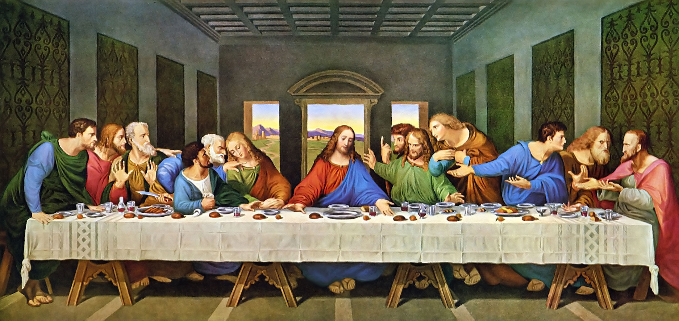 the last supper in todays culture One of the most iconic images in the world today is of the 'last supper' this event is recorded in the christian bible and is said to be jesus christ's last supper with his disciples, before his execution.